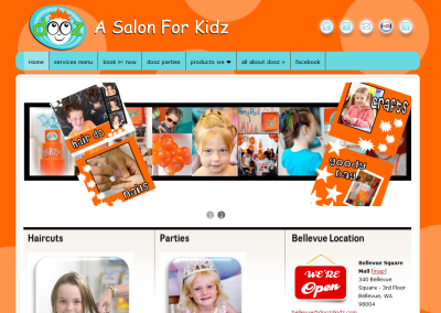 Dooz4Kidz.com site re-design